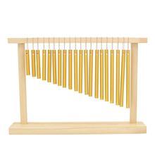 20 баров, колокольчик, музыкальный инструмент, деревянная рамка, ударная музыкальная игрушка, баров, колокольчик, музыкальный инструмент, колокольчик