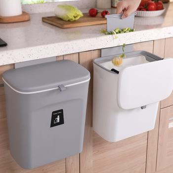 9L naścienny kosz na śmieci kuchnia kosz z pokrywką kosz na śmieci kuchnia drzwi wiszące kosz na śmieci śmieci samochodowy kosz na śmieci kosz na śmieci kosz na śmieci kosz na śmieci tanie i dobre opinie HAIMAITONG CN (pochodzenie) Prostokątne Stojący Ekologiczne Na stanie Wiadro na śmieci Wciskany F150080 cubos basura para reciclar