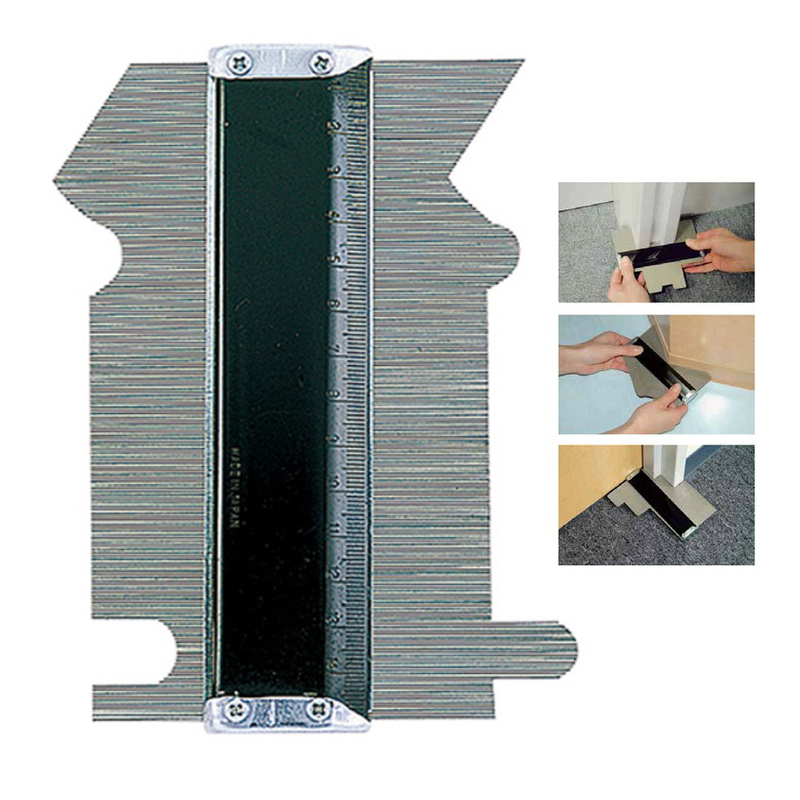 150mm Contour Copy Measuring Tools Laminated Tiles Profile Gauge Winding Pipe