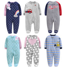 New Retail New Newborn Infants Baby Boy and Girl Wear Mickey Even Climb Clothes Conjoined Ha Garments 2019(China)