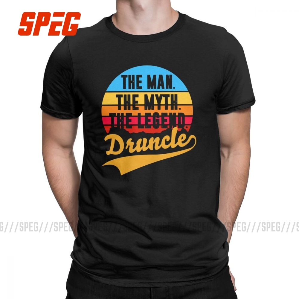 FUNCLE THE MAN THE MYTH THE LEGEND TSHIRT S-XXL Mens Funny T Shirt Gift for Him