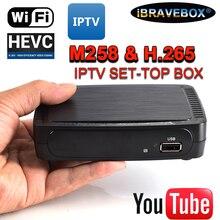 IBRAVEBOX M258 استقبال التلفزيون الأقمار الصناعية الإنترنت مجموعة رقمية صندوق فوقي IPTV استقبال فك كامل HD 1080P 4K صندوق التلفزيون مع USB واي فاي #50