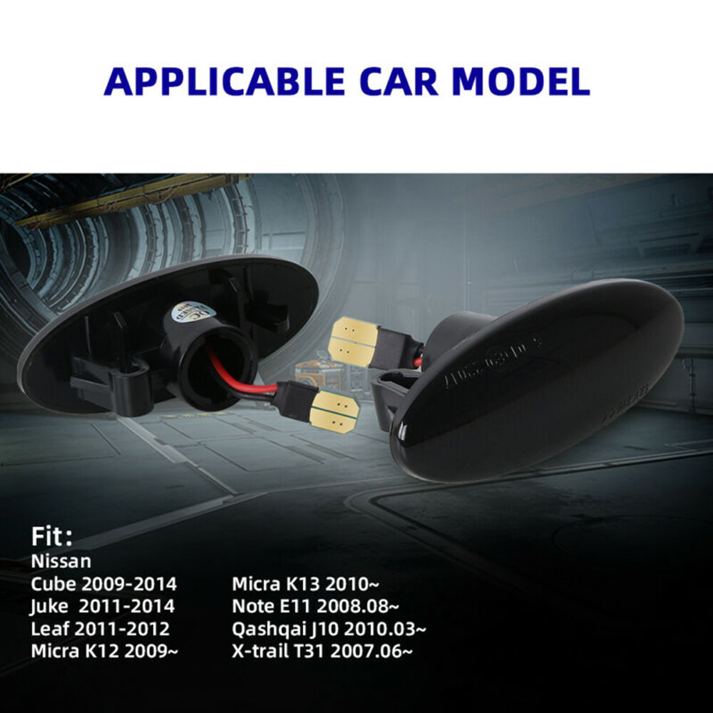 Auto Parts Good Comfort Car Turn Signal Light Auto Replacement 3528SMD 8 30V For Nissan Leaf Juke