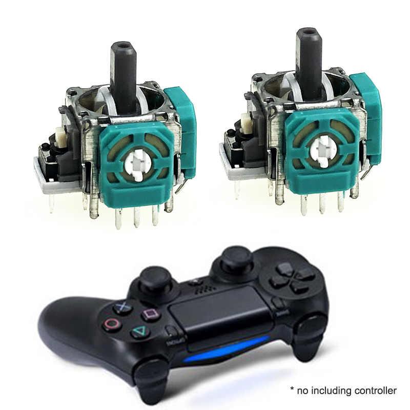 2 قطعة عصا تحكم تناظرية ثلاثية الأبعاد عصا وحدة الاستشعار الجهد ل بلاي ستيشن 4 PS4 سليم برو وحدة الاستشعار ل Xbox One Elite/سليم