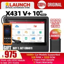 Launch X431 V Plus V + OBD2 Scanner X 431 Auto Diagnostic Tool Automotive Obd Auto Scan Met Sleutel Codering
