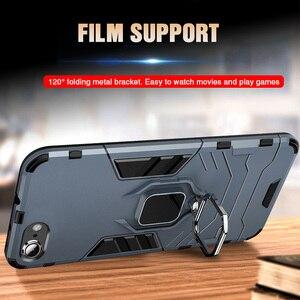 Image 5 - 高級防具ソフト耐震ケースに Iphone XR XS Max X シリコーンバンパーケース Iphone 11 プロ最大 6 7 8 プラス金属リング