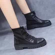 Женские черные сапоги с квадратным каблуком женские ботинки