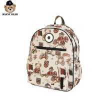 Danny Bear Bagpack Vogue Funny Bag For Women Backpack Zipper Causal Fashion Pack Student School Bag DTB9915506-208W рюкзак danny bear danny bear mp002xg006i1