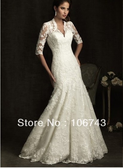Free Shipping 2018 New Design Style Hot Sale Sexy Bridal Gown Sweet Princess Custom Size Lace Lace Mother Of The Bride Dresses
