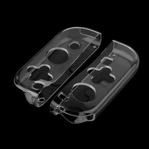 Image 5 - Funda protectora con carcasa suave de TPU de marco para Nintendo Switch, transparente, antigolpes
