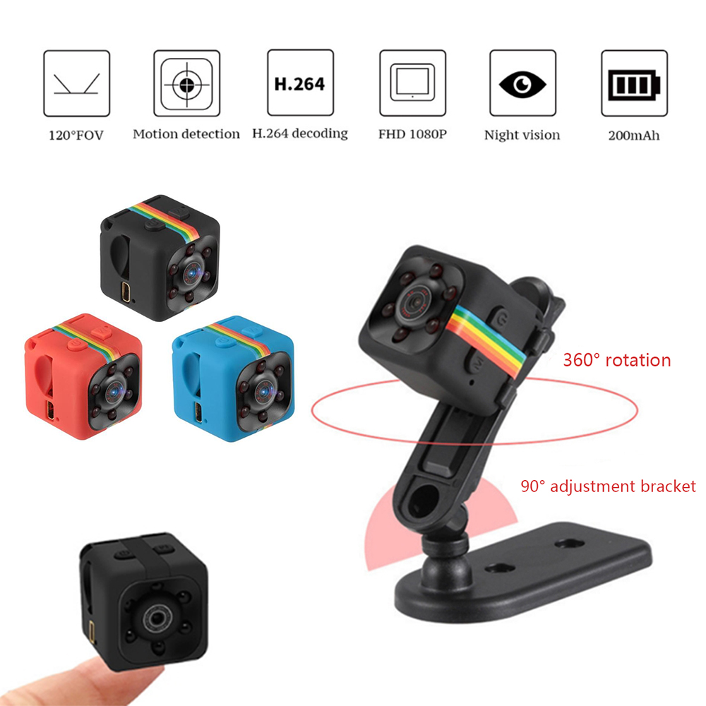 SQ11 Mini Camera 1080P/960P Sensor Night Vision Camcorder Motion DVR Micro Camera Sport DV Video Small Camera Cam
