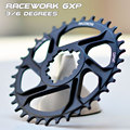 Бесплатно deliv RACEWORK Fahrrad кеттенблатт 32 34 36 38t Engen Breite Fahrrad кеттенблатт мех GXP XX1 XO CNC AL7075 KurbelFahrrad