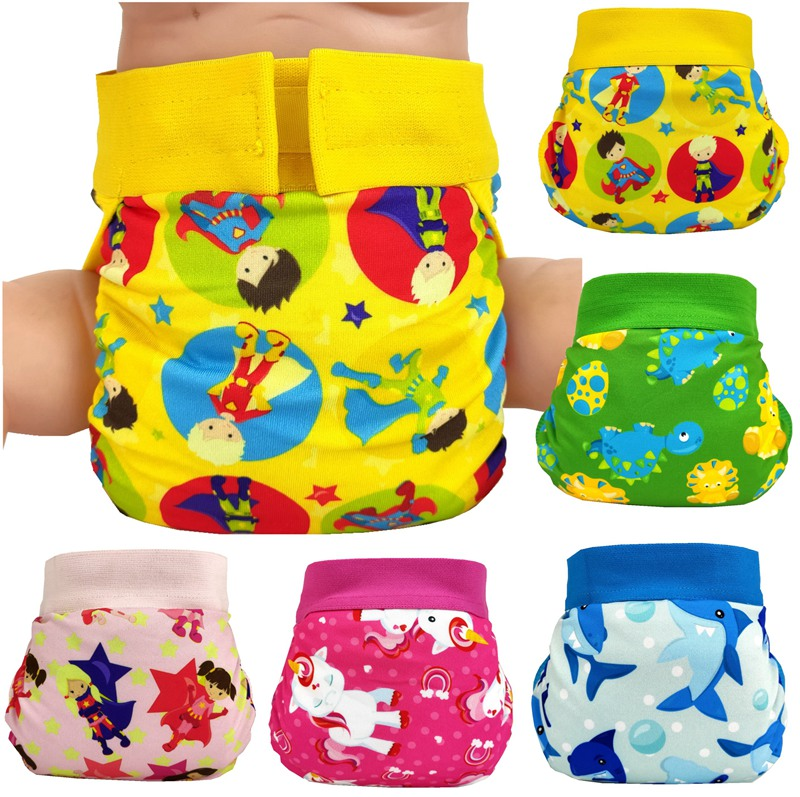 FREE SHIPPING 2019 Super Cute Gladbaby Diaper  Funny Cloth Diaper Nappies Adjustable Washable