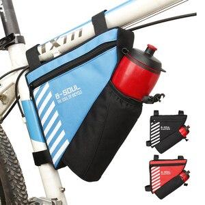 Треугольная сумка для велосипеда, сумка для горного велосипеда с передней рамой, сумка для горного велосипеда, сумка-седло, сумка для верхне...