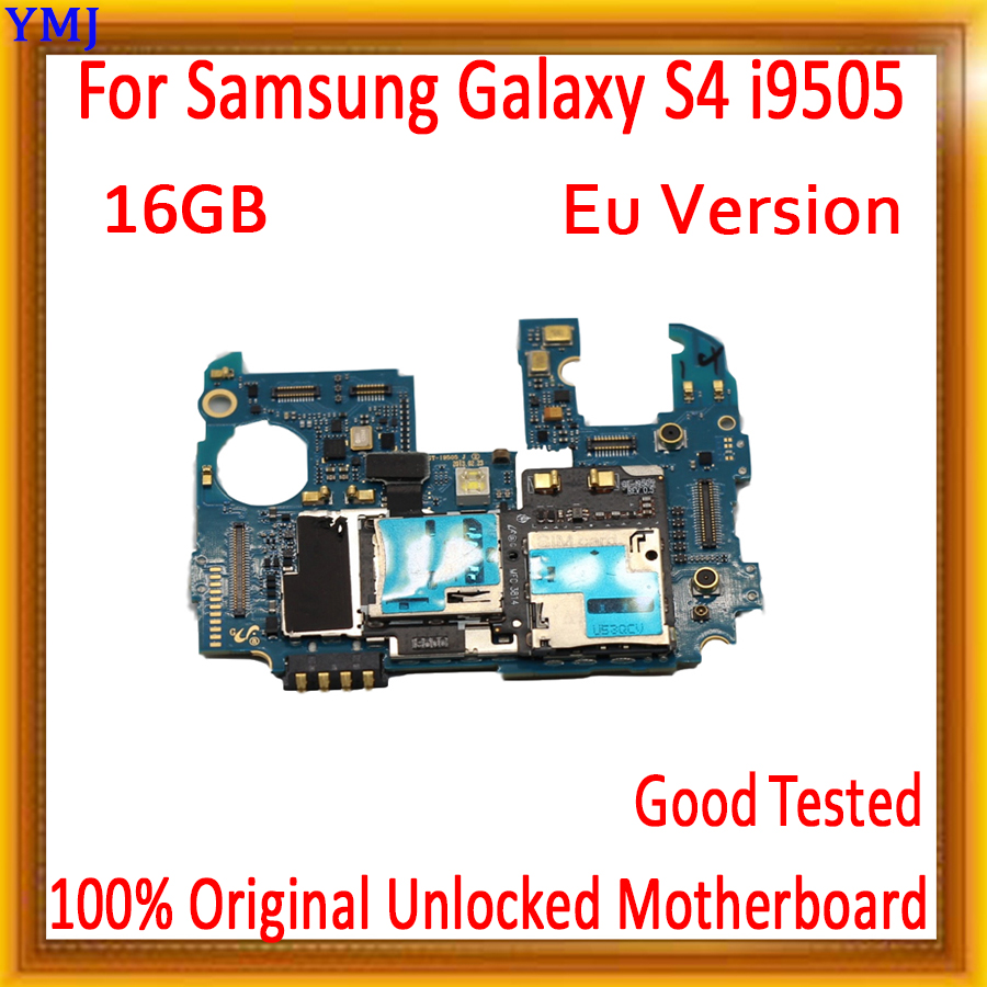 with Android System for <font><b>Samsung</b></font> <font><b>Galaxy</b></font> <font><b>S4</b></font> i9505 Motherboard,16gb Original unlocked for <font><b>Galaxy</b></font> <font><b>S4</b></font> i9505 Logic <font><b>board</b></font>,EU Version image