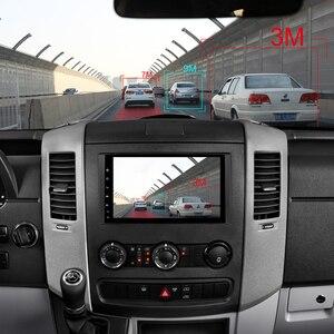 Image 4 - ايسودار أندرويد 9 سيارة مشغل وسائط متعددة لمرسيدس/بنز/العداء/فيانو/فيتو/B class/B200/B180 نظام تحديد المواقع 1 الدين أوتوموتيفو راديو 8 الأساسية