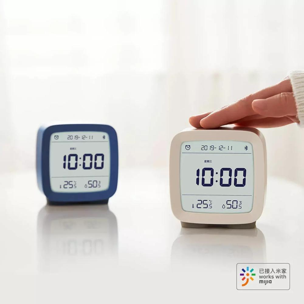 Image 4 - Xiaomi Mijia ClearGrass Bluetooth Digital Thermometer Temperature  And Humidity Monitoring Alarm Clock Xiaomi Night Light 3 In 1Smart  Remote Control