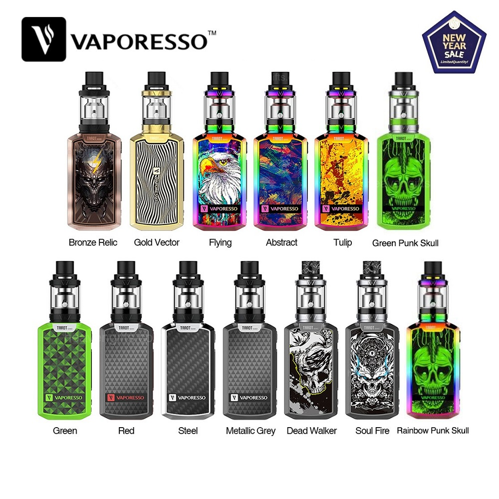 Original 80W Vaporesso Tarot Nano TC Kit With 2ml VECO Tank 2500mAh Battery Box Vape Mod Tarot Nano Vs Vaporesso Gen/ Swag 2/