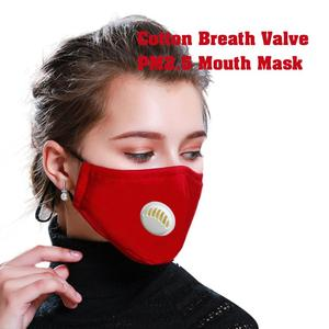 Image 1 - PM2.5 Anti Cotton Haze Mask Breath Valve Anti dust Mouth Mask Activated Carbon Filter Respirator Mouth muffle Mask Face