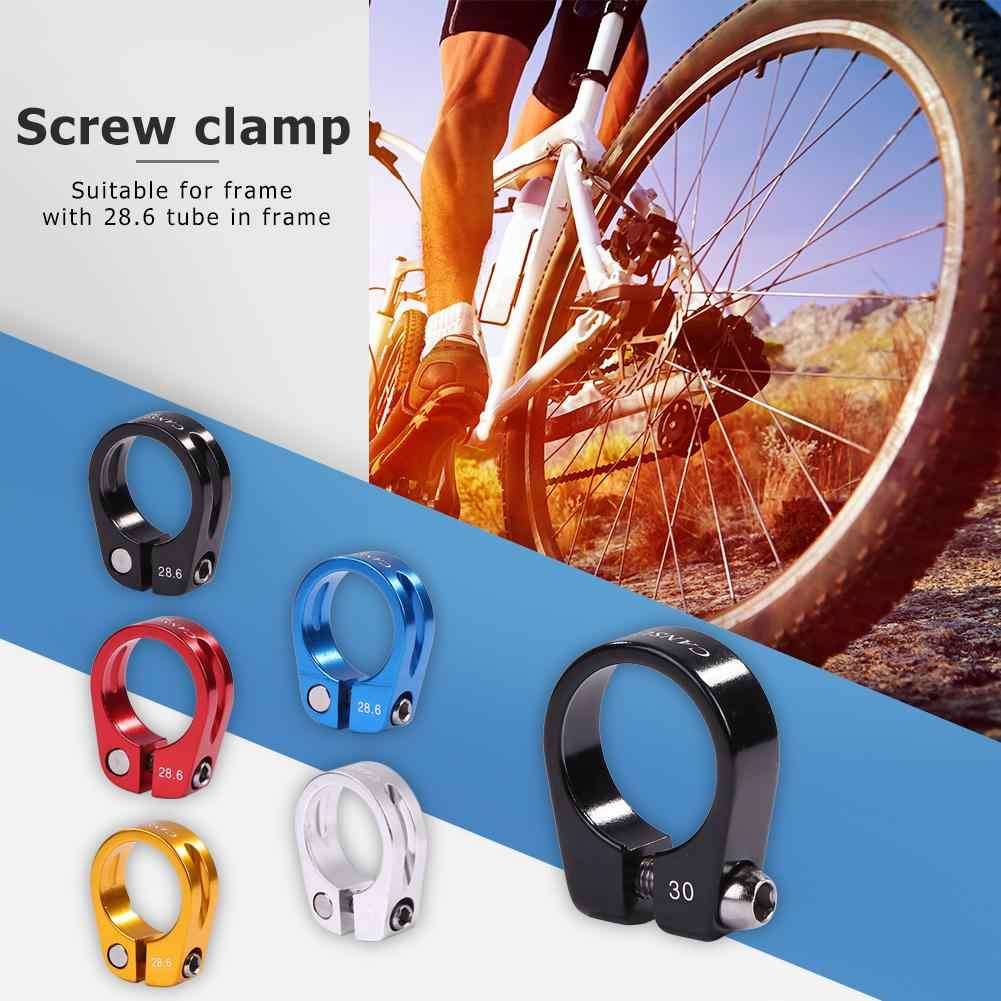 Bicycle Mountain Road Bike Seat Post Clamp Aluminium Alloy Quick Release W