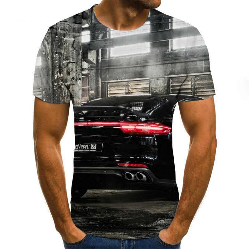 Nueva camiseta de verano con estampado 3D de animación, digital 3D Camiseta con estampado, camiseta informal de manga corta para hombre y mujer, marca harajuku