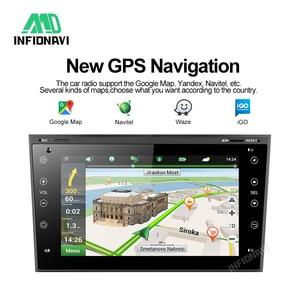 Image 4 - Android 9.0 Multimedia Player Car DVD Car Radio Navigation for Opel Vauxhall Astra Meriva Vectra Antara Zafira Corsa Agila