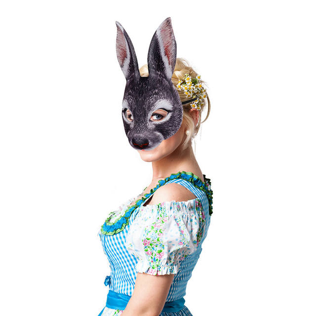 3D Party Bunny Mask