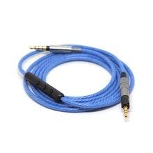 Обновленный кабель для sennheiser impulse 20 посеребренный Встроенный