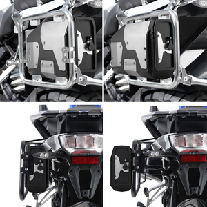 Image 3 - Big sale! Tool Box For BMW r1250gs r1200gs lc & adv Adventure all years 2012 for BMW r 1200 gs Left Side Bracket Aluminum box