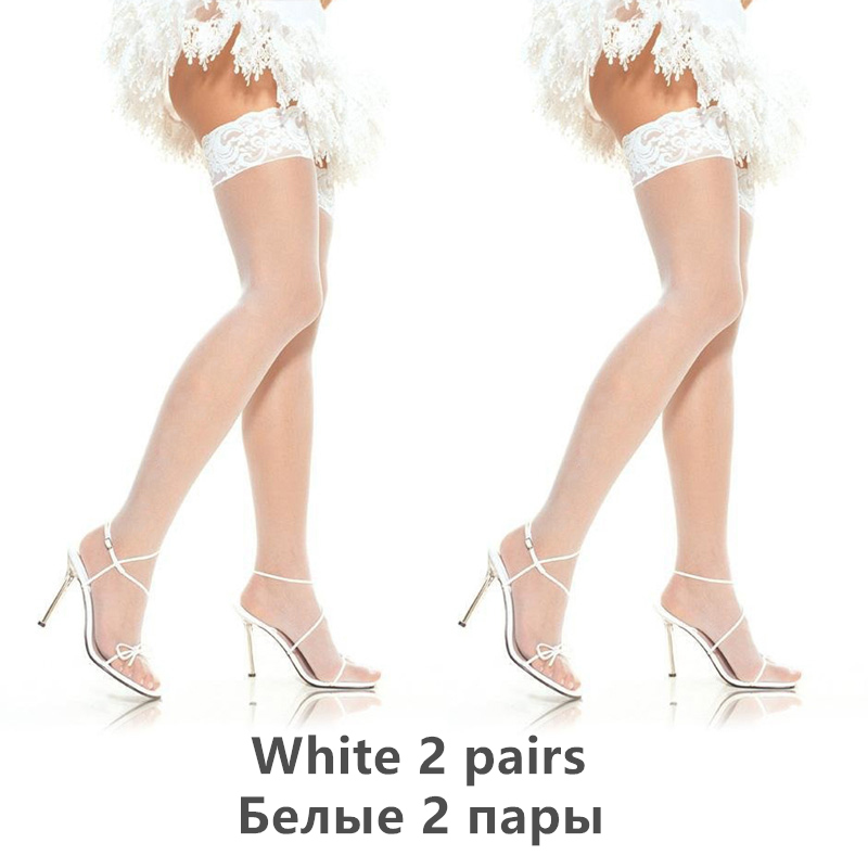 H560cdbaedf6246fcb2904294340aad8bm - Thigh High Stocking Women Summer Over knee Socks Sexy girl Female Hosiery Nylon Lace Style Stay Up Stockings Plus Size