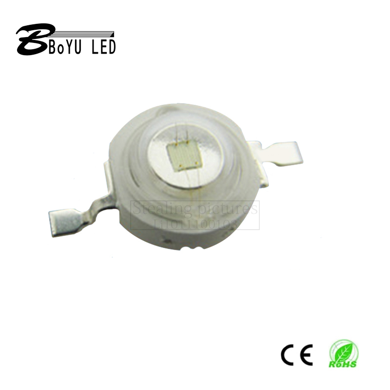 100 pieces per pack. High power LED1 3 5W green light LED diode chip, 38mil, stage lamp LED lumen lamp beads|Light Beads|   - AliExpress