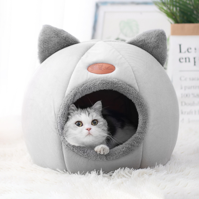 Super Cozy Kitty Cave Sleeper  6