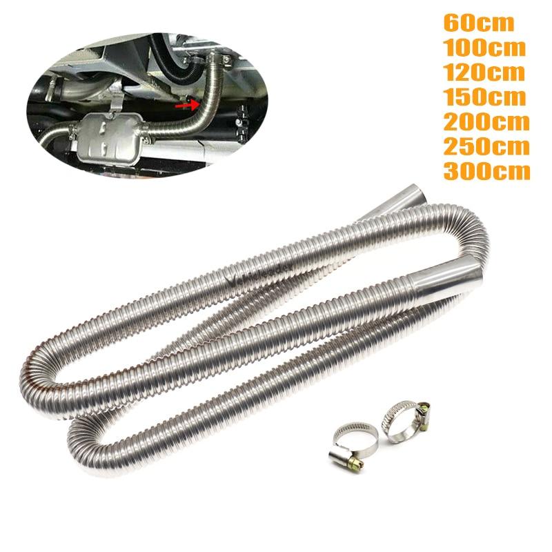 Pipe-Tube Car-Heaters-Accessories Parking-Tank Gas-Vent Stainless-Steel Air-Diesels Exhaust