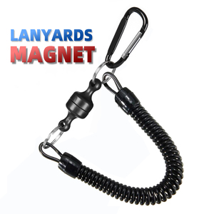 Fishing & Outdoor & Hike Magnet Lanyards Retention Ropes Release Holder Secure Pliers Lip Grips Tackle Tools Fishing Accessories