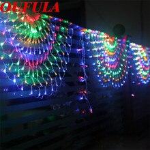 OUFULA Peacock LED String…