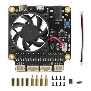 Image 5 - Raspberry Pi X735 An Toàn Tắt Máy Quản Lý Điện Năng & Tự Động Làm Lạnh Ban Cho Raspberry Pi 4 Mẫu B/3B + (Plus) /3B / 2B +