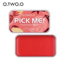 Palette de réparation 3 en 1, Rouge à lèvres, ombre à paupières, Blush naturel, cosmétiques pour le visage, TSLM1