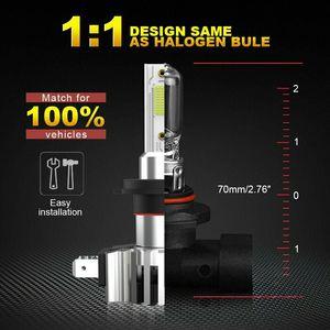 2 шт. 110 Вт светодиодный Canbus автомобильный фонарь H7 светодиодный H4 H1 H8 H11 9005 HB3 9006 HB4 COB 26000LM 6000K 12В 24В Мини анти-erreur лампа авто