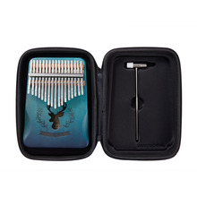 Storage-Bag Kalimba African Musical-Instrument-Accessory Hard-Shell Carry-Case for 10/17-Keys