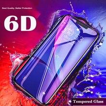 6D Volledige Cover Voor Huawei Honor 7X 8X Screen Protector Op Beschermende Glas Voor Huawei P20 Pro Mate 10 20 honor 9 Lite Nova 3 3i
