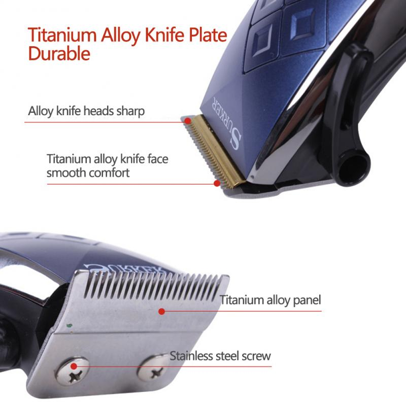 Professional Portable Electric Hair Clipper Rechargeable Mini Hairs Trimmer Cutting Machine Barber Beard Razor Style Tools Men