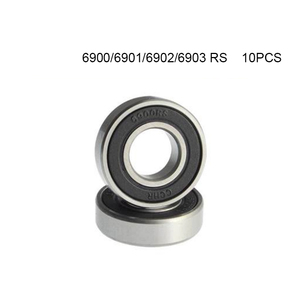 10Pcs 6000 6001 6900 6901 6902 6903 2RS Deep Groove Ball Bearing Bearing Steel free shipping