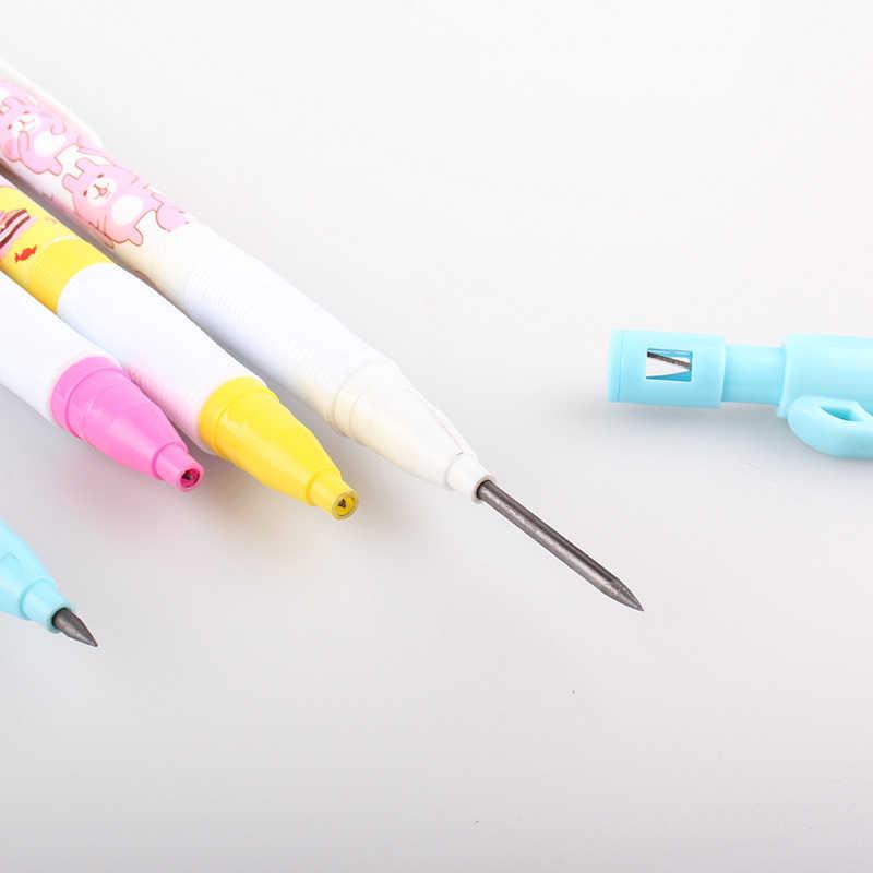 1 Pza 2,0mm Kawaii lápices automáticos de dibujos animados lindo conejo lápiz mecánico para niños regalo escuela Oficina dibujo suministros papelería