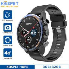 "KOSPET HOPE 3GB 32GB Android akıllı saat erkekler 8.0MP kamera 1.39 ""WIFI IP67 su geçirmez 4G GPS akıllı saat telefon IOS Android için"