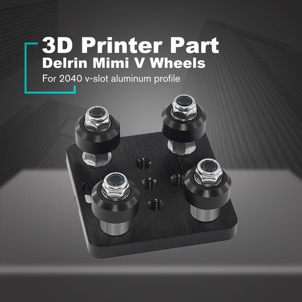3D Printer Part Set Openbuilds <font><b>V</b></font> Gantry Plat <font><b>V</b></font> Linear Actuator System Slide Plate For <font><b>2040</b></font> <font><b>V</b></font>-<font><b>slot</b></font> Aluminum Profile image