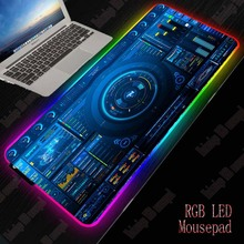 XGZ Dj Controller Gaming RGB Large Mouse Pad Gamer Big Mouse Mat Computer Mousepad Led Backlight XXL Mause Pad Keyboard Desk Mat xgz nebula rgb large gaming starry mouse pad gamer led computer pad big mat with backlight for keyboard desk