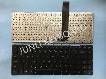 Teclado JUNLI para Asus X401 X401K X401E X401U X401 X401A con tornillo teclado para portátil de EE. UU.