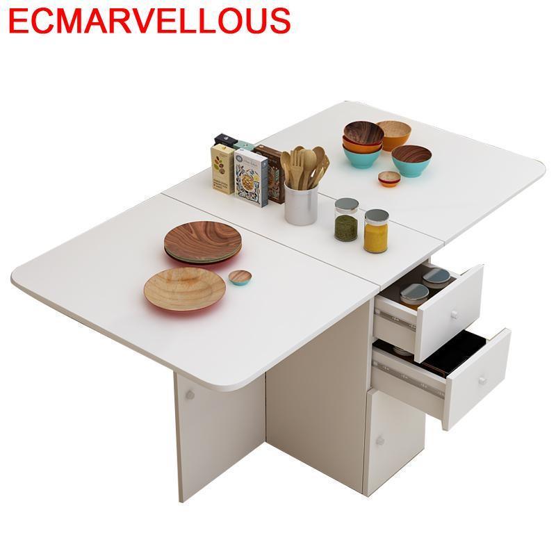 Marmol Piknik Masa Sandalye Eet Tafel Redonda Comedores Mueble Retro Wooden Folding Desk Bureau Mesa Comedor Dining Table