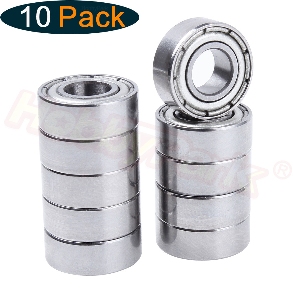 10pcs Ball Bearings 5x11x4mm  For 1/10 RC TAMIYA CC01 Rock Crawler Spare Replacement Upgrade Parts Hop-up