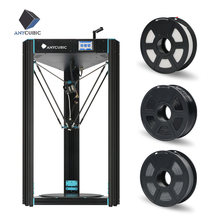 Anycubic Predator 3D Printer Ukuran 370*370*455 Mm Dirakit Ultrabase Pro 3D Printer Kit impresora 3D Impressora 3D(China)